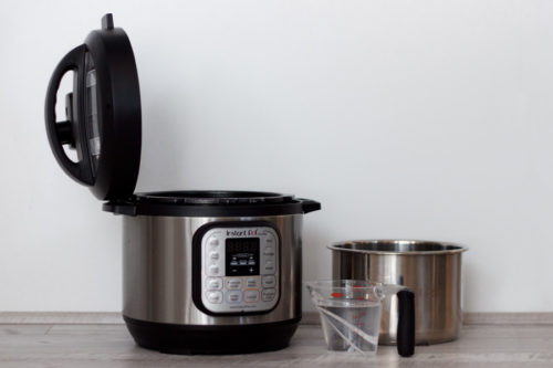 Be sure to put your inner pot inside your housing when doing the Water Test in your Instant Pot / Electric Pressure Cooker
