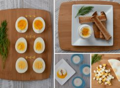 Picture collage on How to Make Instant Pot Eggs in ANY Electric Pressure Cooker