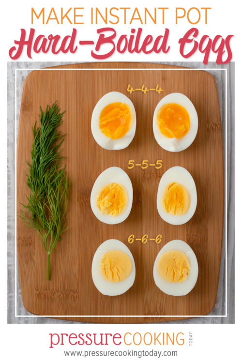 Make Perfect Hard-boiled Eggs in the Instant Pot | Comparison of Different Cook Times