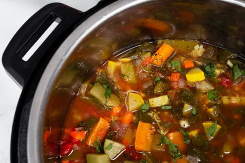 Weight Watchers 0 point vegetable soup