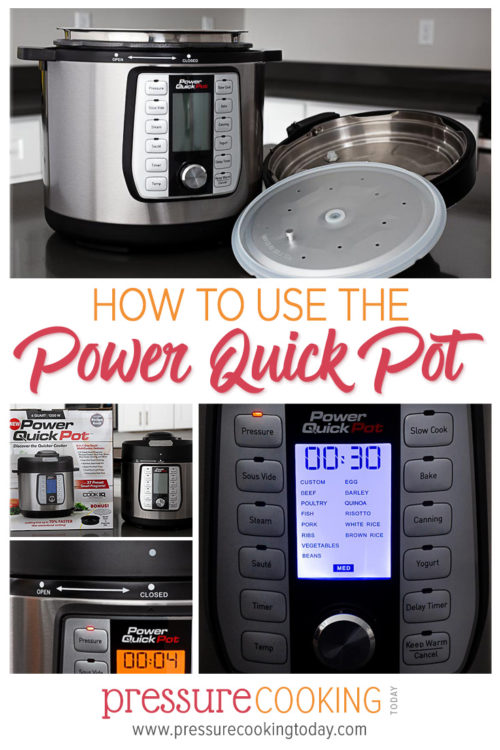 What you need to know about how to use the Power Quick Pot electric pressure cooker || Review by Pressure Cooking Today