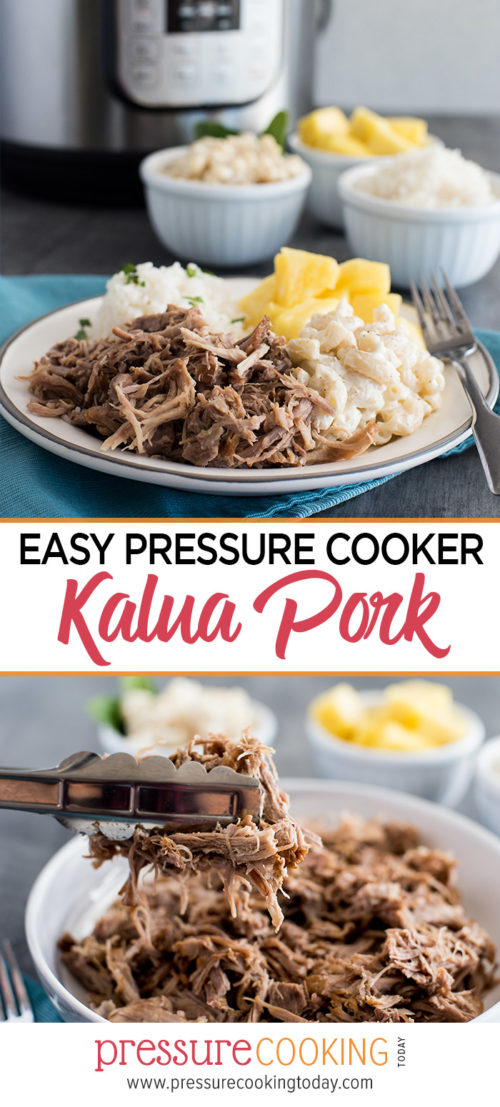 Easy 5-ingredient Instant Pot / Pressure Cooker Kalua Pork by Pressure Cooking Today