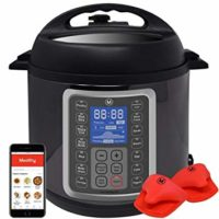 Mealthy MultiPot 9-in-1 Programmable Pressure Cooker 6 Quarts with Stainless Steel Pot