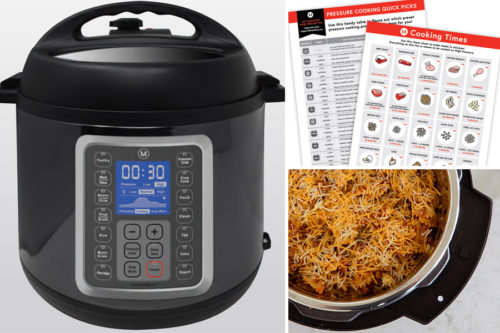 Collage for MultiPot electric pressure cooker by Mealthy