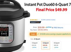 Instant Pot Duo Prime Day Price $49.99—LOWEST PRICE EVER