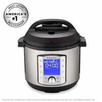Instant Pot 6QT Duo Evo Plus Electric Pressure Cooker, 6 quart
