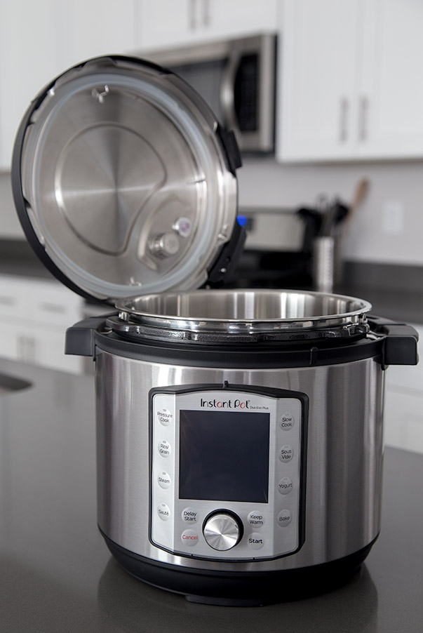 Instant Pot Evo with open lid
