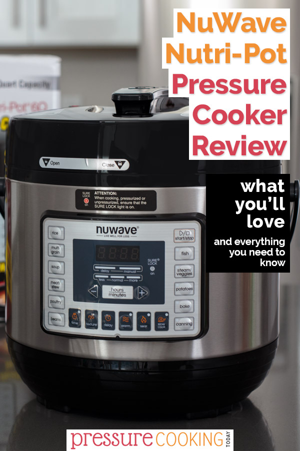 Learn everything you need to know about the NuWave Nutri-Pot pressure cooker!