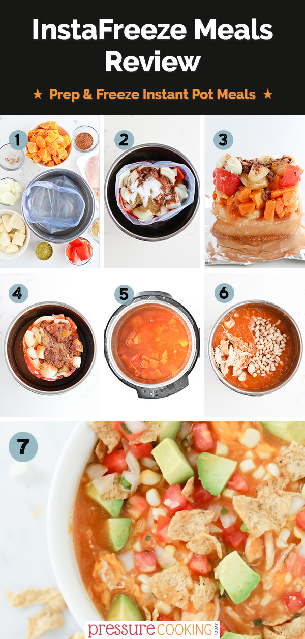 A bunch of different types of food, with Soup and Chicken via @PressureCook2da