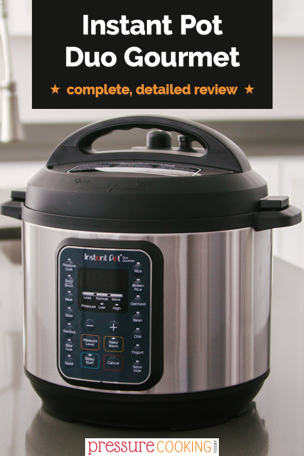 Should You Buy the New Instant Pot Duo Gourmet? I've taken the Duo Gourmet for a test-drive. Read the full review to find out what you'll love and what you should know before you buy! via @PressureCook2da