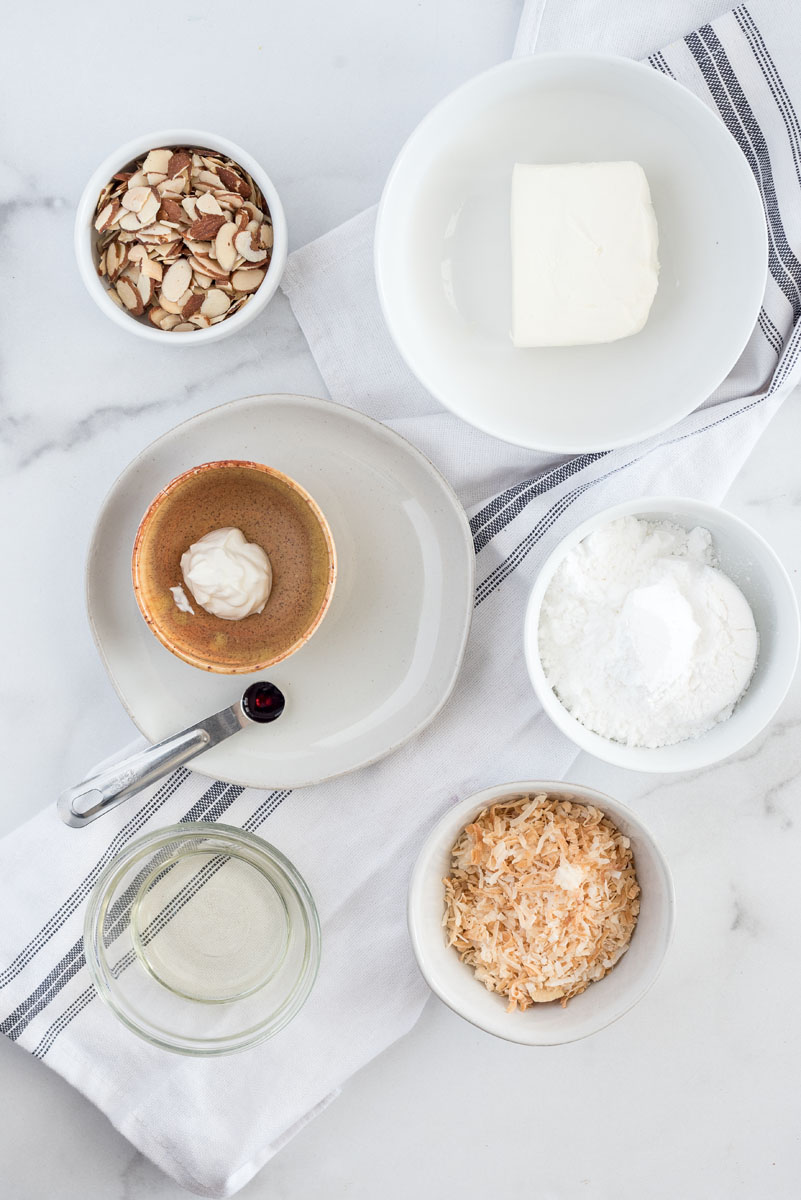 ingredients to make instant pot chocoalte cake for two