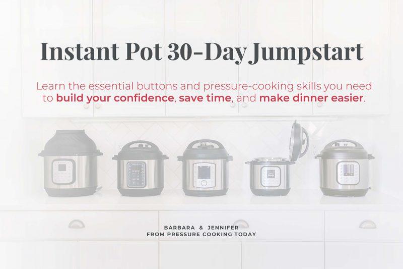 Instantn Pot 30-Day Jumpstart Course Promotional image
