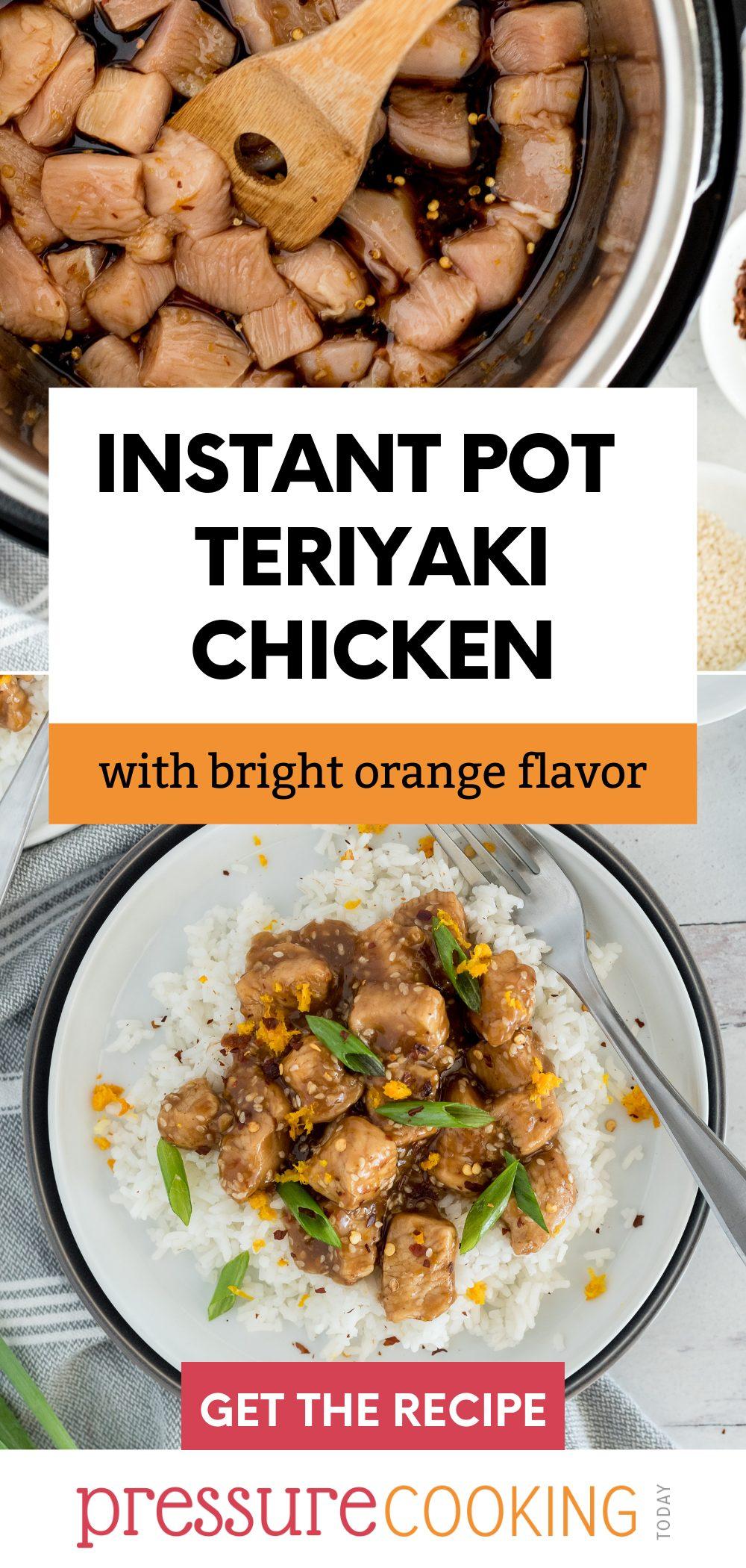 Instant Pot Teriyaki Chicken via @PressureCook2da