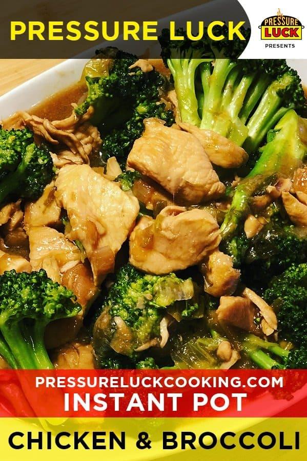 Instant Pot Chicken Broccoli Pressure Luck Cooking