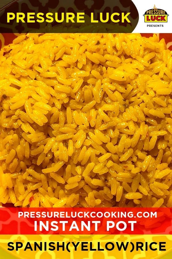 Can you make spanish rice in a pressure cooker