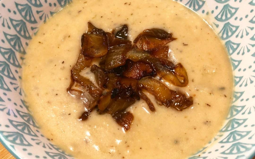 Instant Pot Cream of Onion Soup