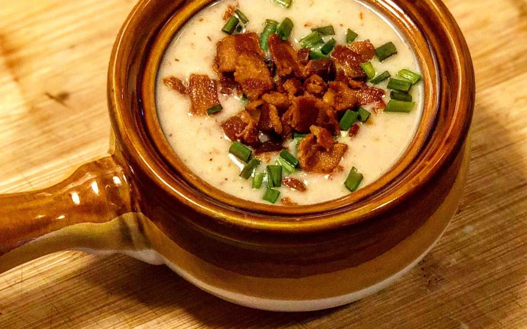 Instant Pot Cream of Bacon Soup