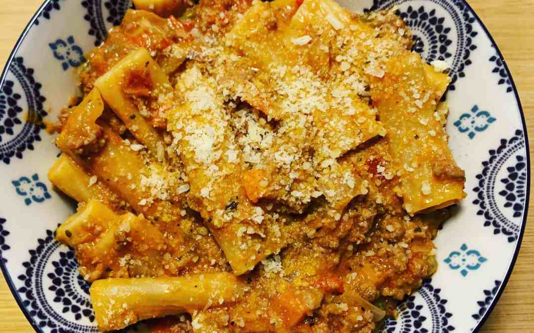 Instant Pot Pasta Bolognese