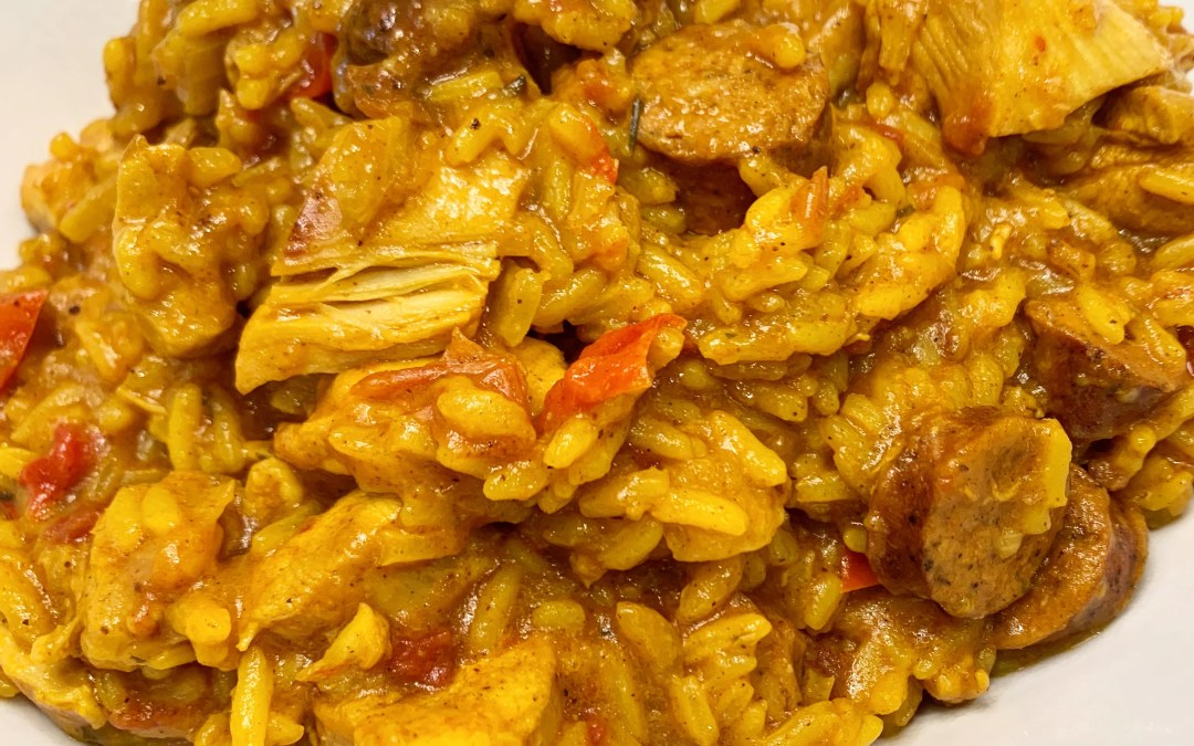 Instant Pot Arroz con Pollo (Chicken with Rice)