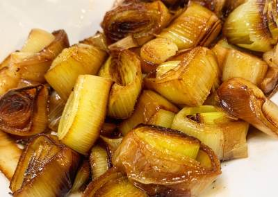 Instant Pot Butter Braised Leeks