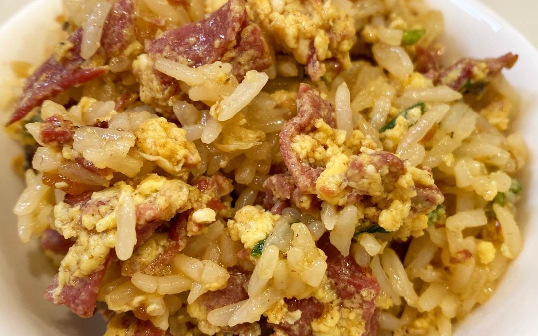 Instant Pot Jewish Deli Fried Rice