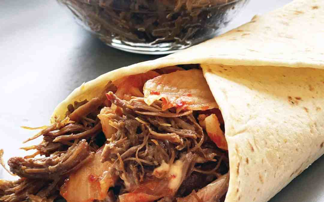 Instant Pot Korean Beef Tacos
