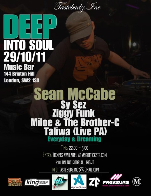 Deep Into Soul 29/10/11