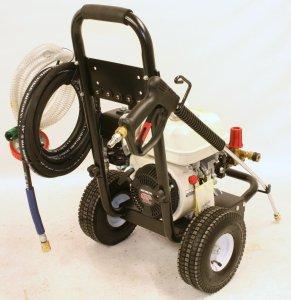 Honda GP 200 pressure washer 6.5hp 4 stroke engine motor 10m high pressure hose nozzle