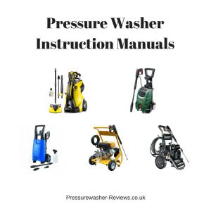 Pressure Washer Instruction Manuals