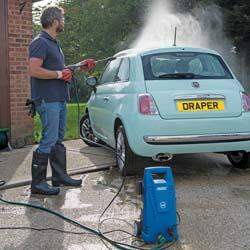 draper 31562 pressure washer review car motor home bike garden furniture clean wash moss