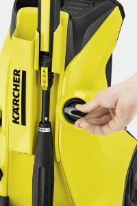 Karcher K4 Ful Control pressure washer review car driveway patio home garden path shed garage