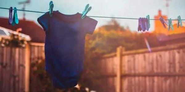 Wash Baby Clothes