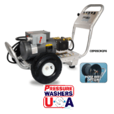 1500 PSI - 1750 RPM - Electric Wheeled Pressure Washer
