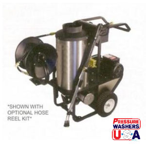 1000 PSI - 3 GPM Hot Water -2 HP, 120V, 1 PH Pressure Washer
