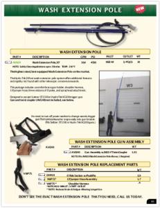 2019 Pressure Zone Parts 08 Extension Poles
