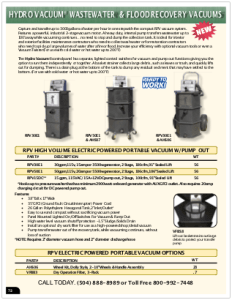 2019 Pressure Zone Parts 10 Vacuum Parts