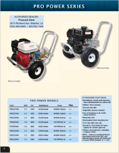 Pro Power Series