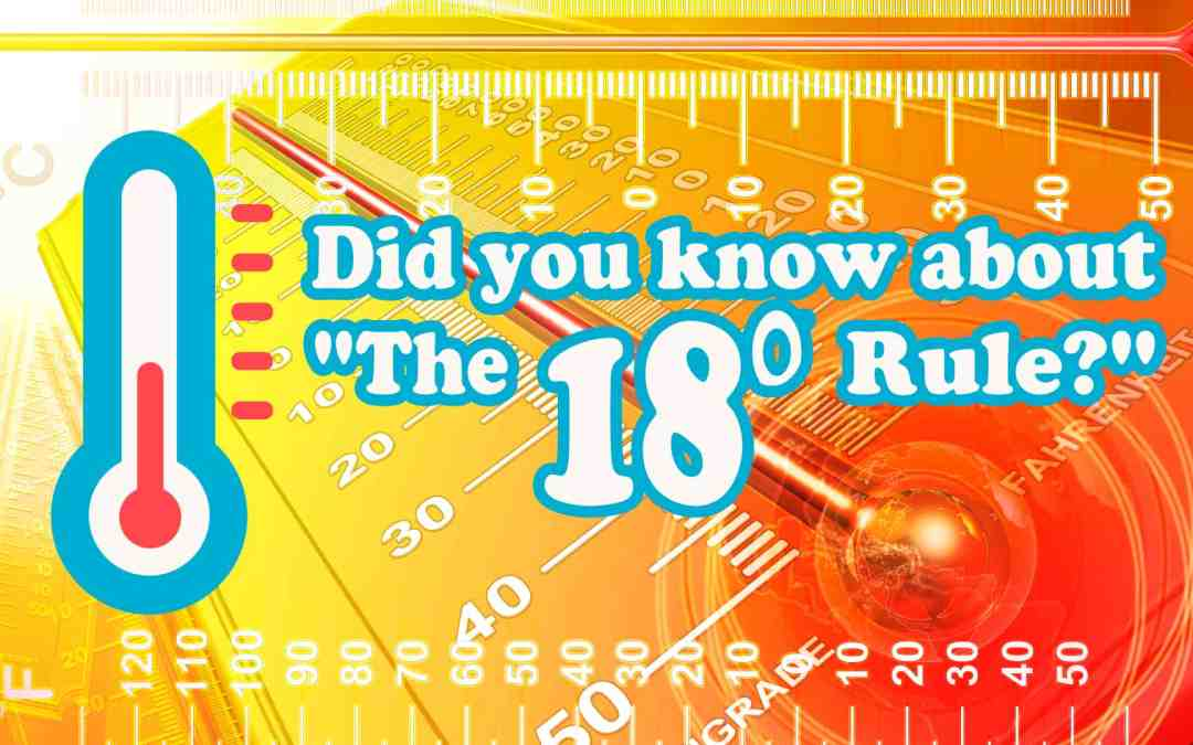 Did You Know About The 18° Rule?