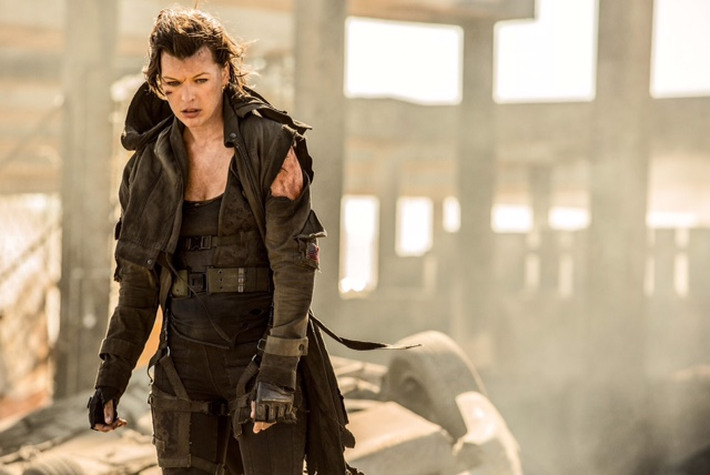 Milla Jovovich stars in Screen Gems' RESIDENT EVIL: THE FINAL CHAPTER.
