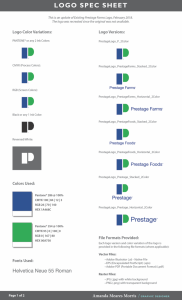 Prestage Logo Spec Sheet