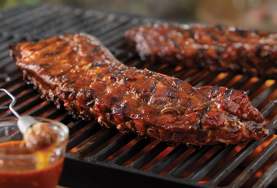 Recipe Tangy Grilled Back Ribs