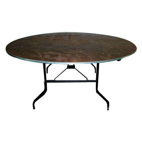 table ronde pliante o 180 cm 10 pers