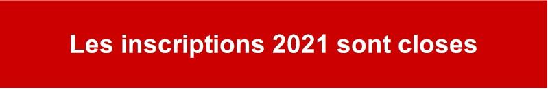 Cours 2021 fermé