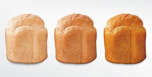 Niveles de tueste pan en panificadora