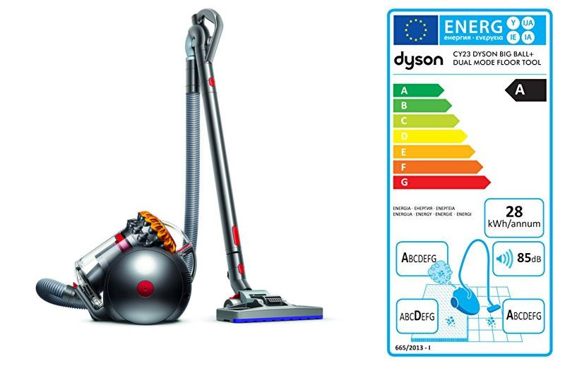 Dyson Big Ball Multifloor Plus- caracteristicas