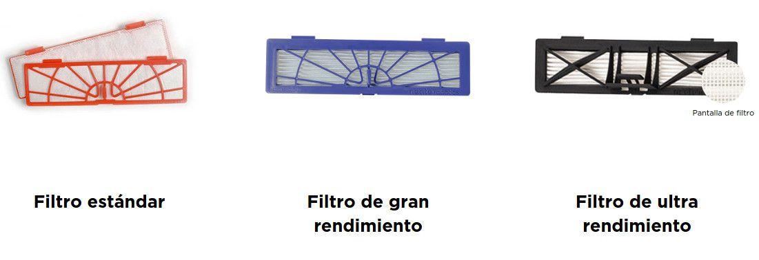 Neato BotVac D5 - filtro de ultrarendimiento