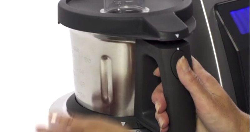 Robot de cocina manejo