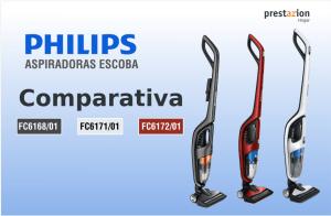 Philips aspìradoras escoba 2 en 1 sin cable-comparativa-FC6168-01