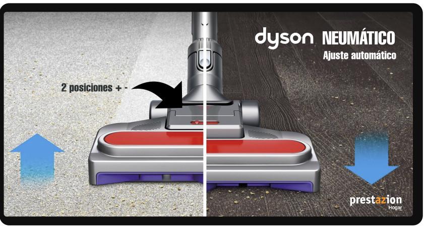 aspiradora dyson trineo big ball- cepillo neumatico