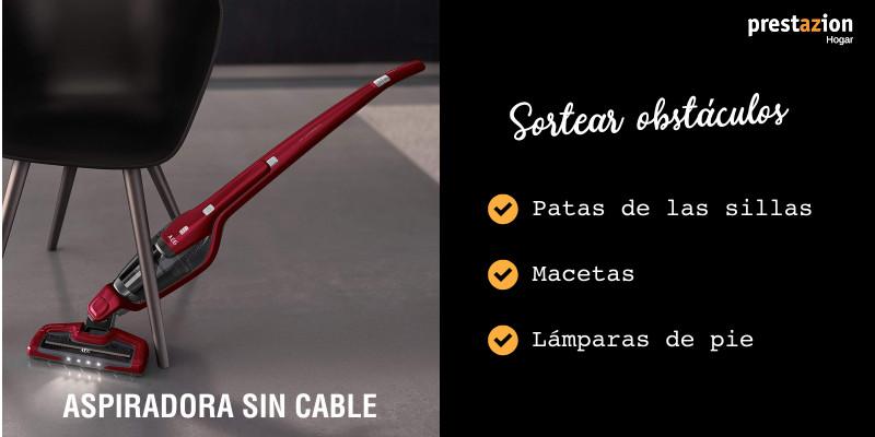 aspiradoras sin cable-ventaja aspirar con obstáculos